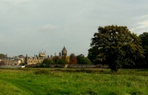 Hello, Cambridge. How lovely of you to put on your autumn colors for me today.